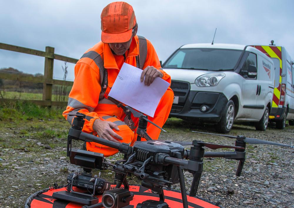 Modellazione 3D del drone