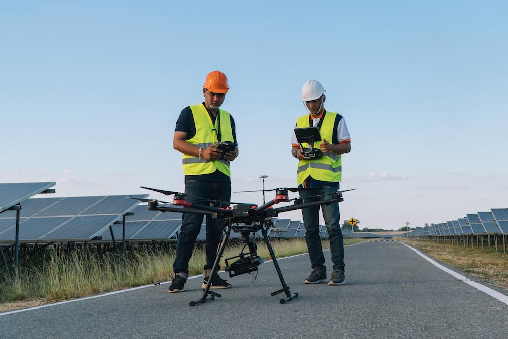 Immagini termiche da drone
