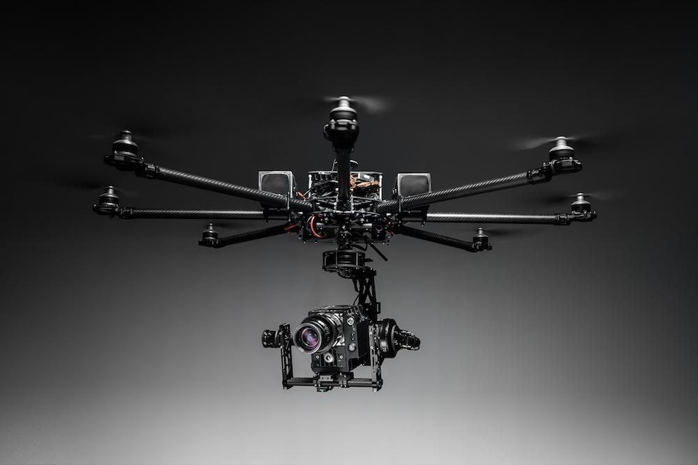 Video aereo del drone