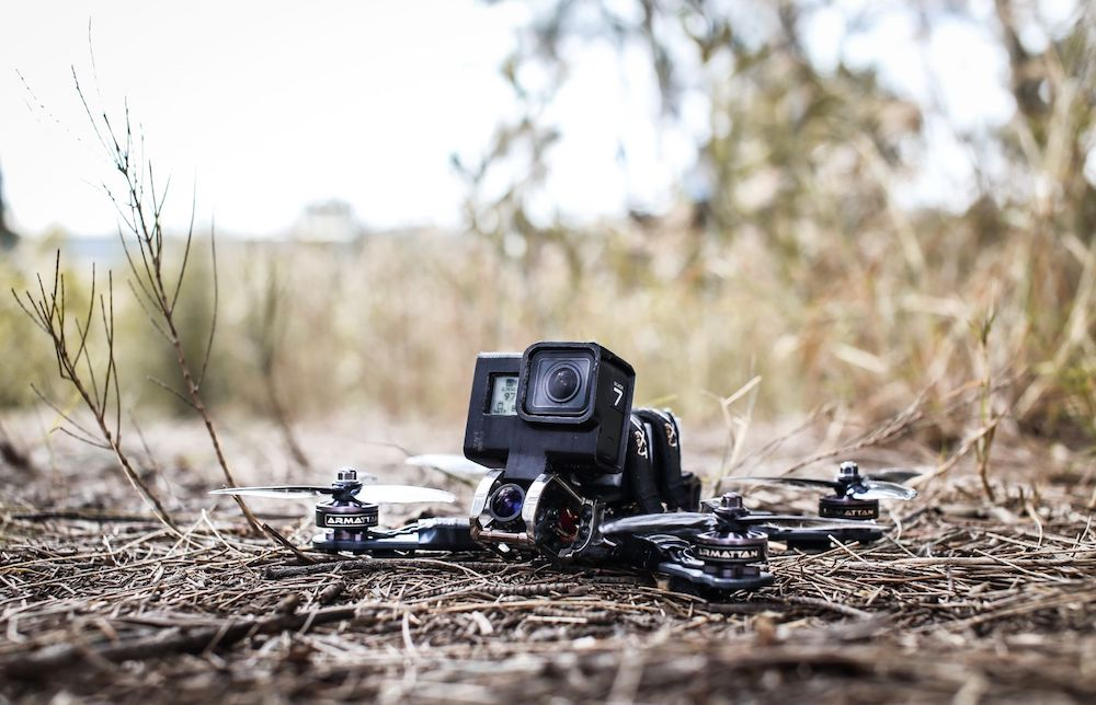 FPV Riprese con il drone